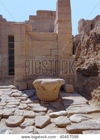 Ruins At Qasr Dusch