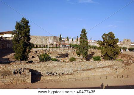 Alcazaba Of Merida (spain)