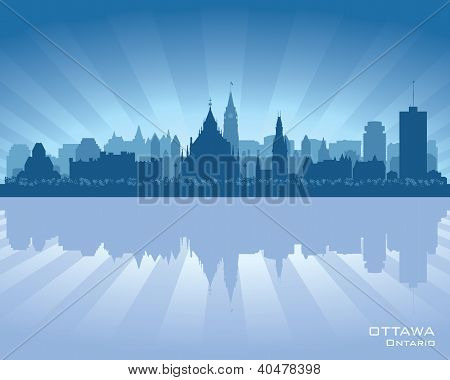 Ottawa, Canada Skyline