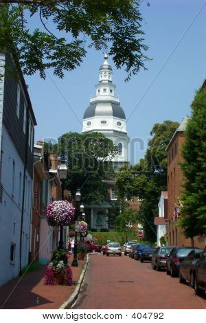 Capital Building In Annapolis