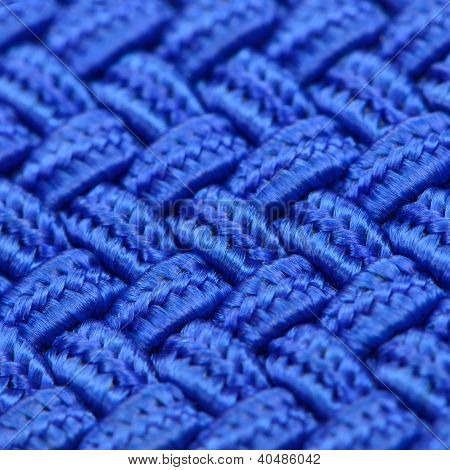 Textura entretejida azul
