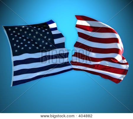 America Divided Red Vs. Blue