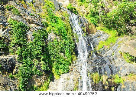 Baron waterfall close to Kuranda, Queensland
