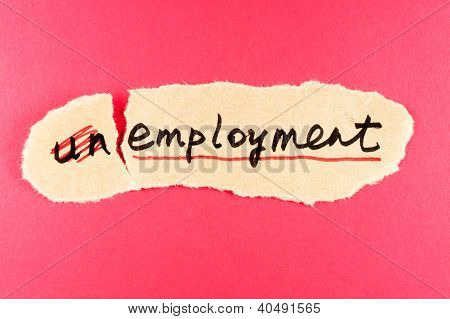 Unemployment To Employment