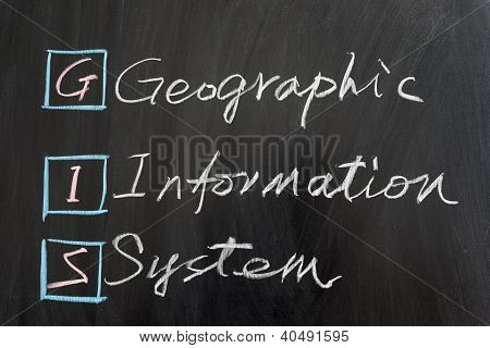Gis, Geographic Information System