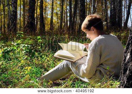 Reading Teenager