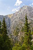 stock photo of samaria  - Peaks of Samaria gorge - JPG