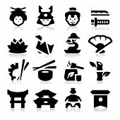 image of japanese flag  - Japanese Culture Icons - JPG