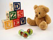 stock photo of teddy-bear  - a teddy bear - JPG