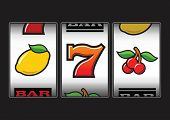 stock photo of bandit  - Slot Machine symbols illustration - JPG