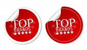 Top brands stickers poster
