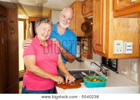 Rv Seniors - Cooking Together