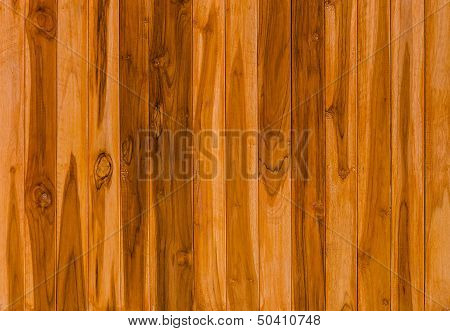 Color Pattern Of Teak Wood