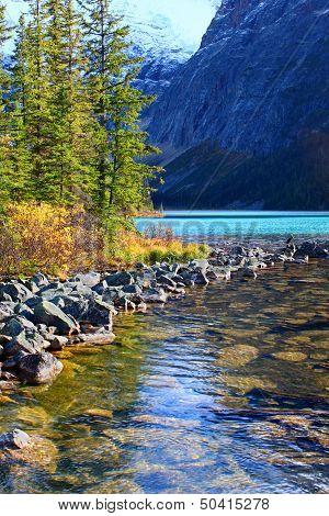 Cavell Lake Jasper National Park