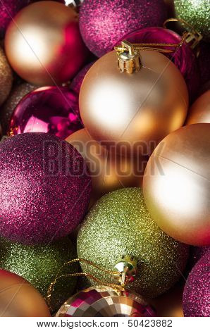 Christmas Baubles - Mixed Collection