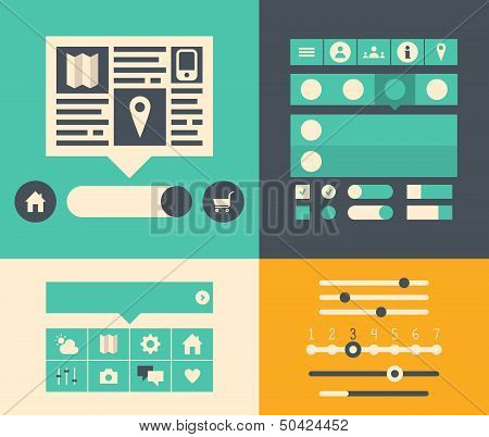 Website User Interface Elements