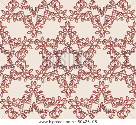 Seamless Pattern Arabesques