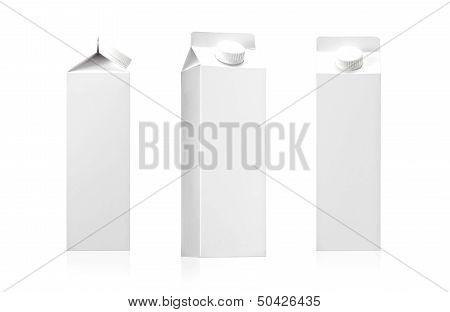 Milk or juice pack