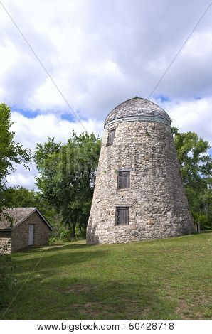 Mill And Granary In Minneopa Park