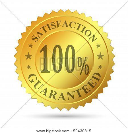 Gold Badge Satisfaction Guarantee