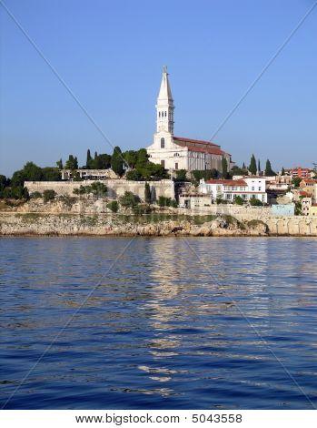 Rovinj, Croatia, From The Sea