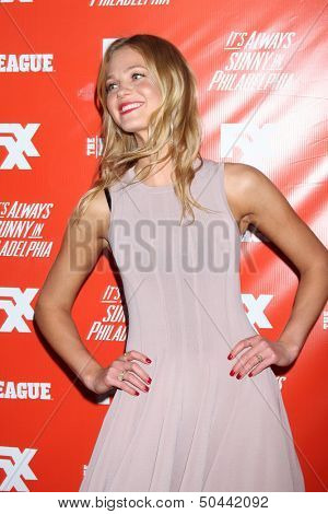 "LOS ANGELES - SEP 3:  Erin Heatherton at the FXX Network Launch Party And Premieres For ""It's Always Sunny In Philadelphia"" And ""The League"" at the Lure on September 3, 2013 in Los Angeles, CA"