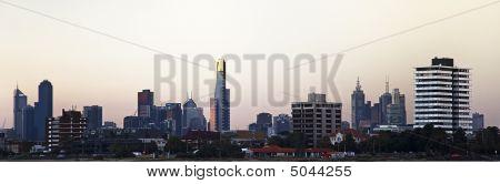 Melbourne Skyline Panorama