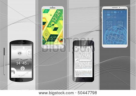 set smartphones