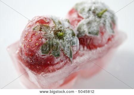 Frozen Twin Strawberries
