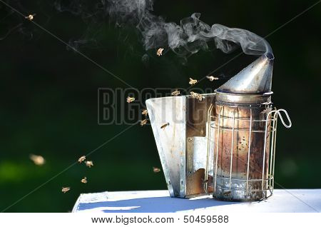 smoking bee smoker