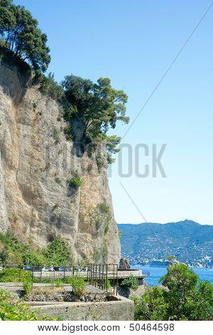 Strada Statale 227 Near Santa Margherita Ligure, Italy
