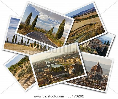 Tuscany Collage