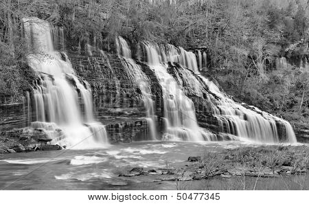 Great Falls in Black and White