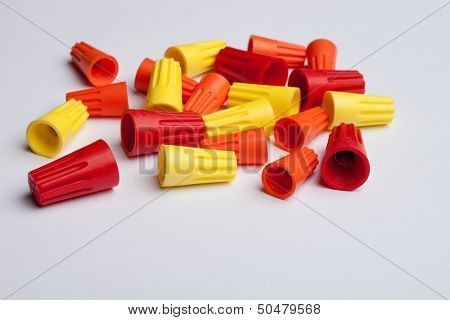 Colored wire connectors