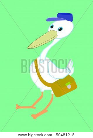 stork postman