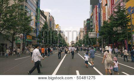 Pedestrian Akihabara, Tokyo