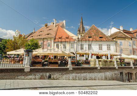 The Small Square In Sibiu