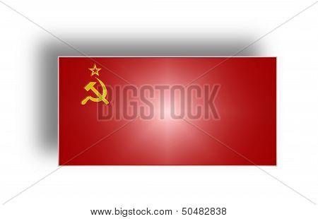 Flag Of The Ussr (stylized I).