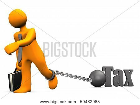 Businessman Prisoner Tax