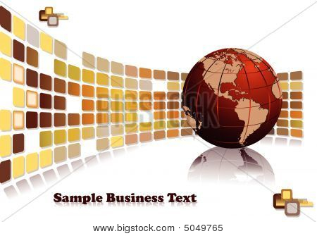Modern Brochure Design For International Business