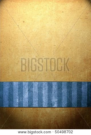 Abstract Background With Old Paper For Title For Christmas, Anniversary, Valentine's Day, Or Other E