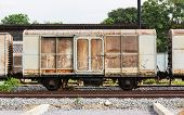 Old Train Container