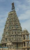 stock photo of swami  - Old and decorative Hindu temple in Sri Lanka - JPG