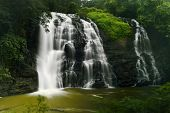 picture of karnataka  - Abbey falls in the coorg region of KArnataka India - JPG