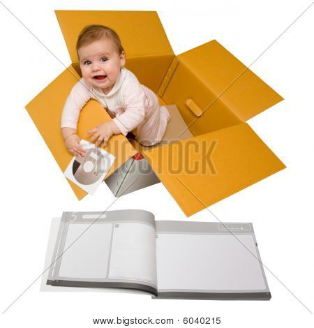Baby In A Box With Setup Disk And Instructions
