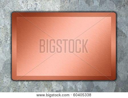 bronz surface