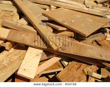 Trashed Wood