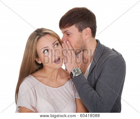 Loving Guy Whispered Something