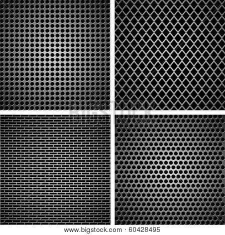 A Set Of Metal Grille