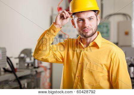 Engineer During Work